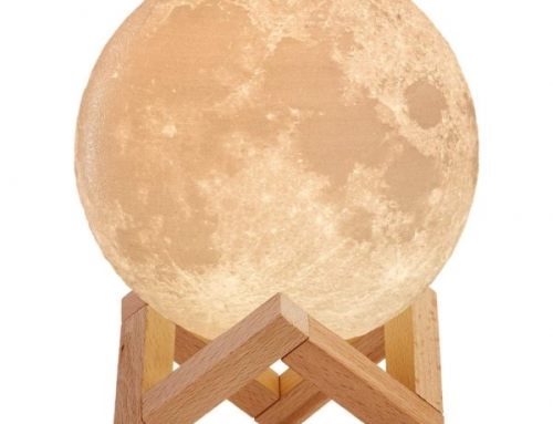 1028 3D LED Moon Light
