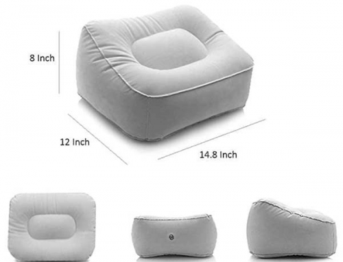 18B035 Inflatable Foot Rest Pillow