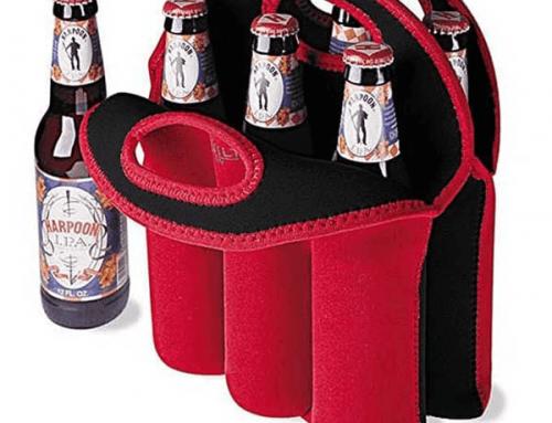18D002 6 Pack Bottle Carrier Bag