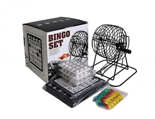 18G038 Bingo Game Set