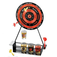 18G048 Shot Glass Darts Bar Game Set
