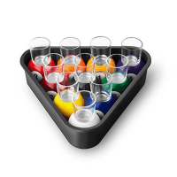18G051 Final Touch Set of 10 Pool Shot Glasses