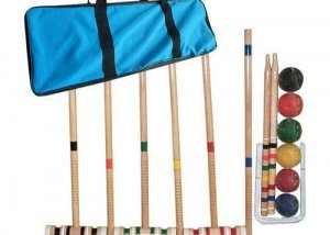 18G083 Standard Croquet Set with Carrying