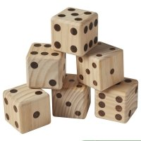 Giant Wood Dice