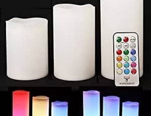 18L027 Candles with Remote Control