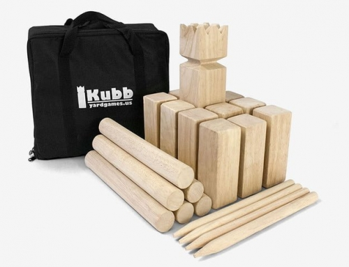 19G003 Yard Games Kubb Throwing Game