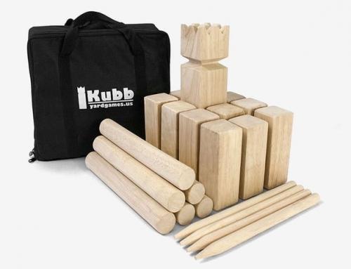 19G003 Yard Games Kubb Throwing Game