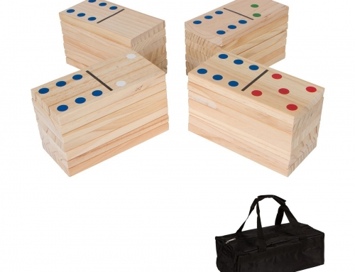 19G106 Giant Wood Dominoes