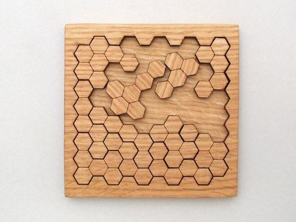 3005 Wooden Geometric Puzzle
