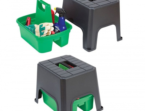 Garden Seat & Step & Tool Carriage Box